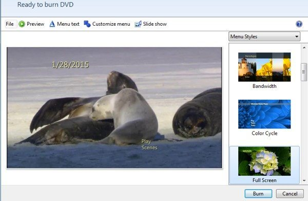Windows Movie Maker auf DVD brennen