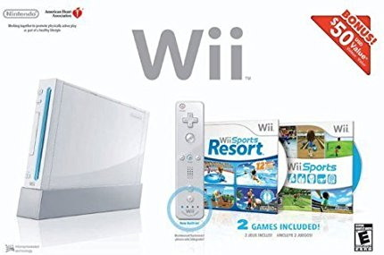 Wii Bundle mit Wii Sports