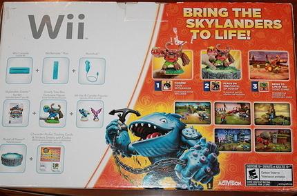 Nintendo Wii-Konsole mit Skylanders Riesen Starter Pack