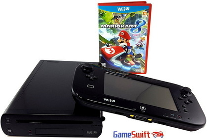 Nintendo Mario Kart 8 Deluxe Set mit DLC Wii U Bundle
