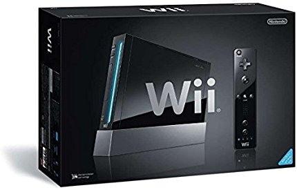 Nintendo Wii-Konsole, Schwarz