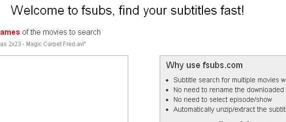 sous-titres gratuit download-fsubs
