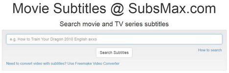 subtitles free download-subsMax