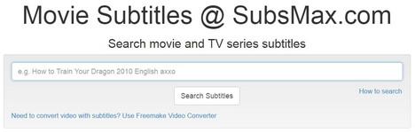 sous-titres gratuit download-subsMax