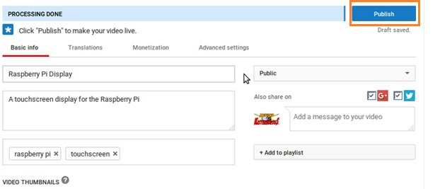 upload subtitle to youtube video