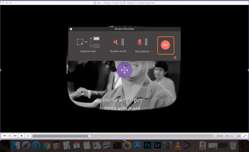 start video recording mac
