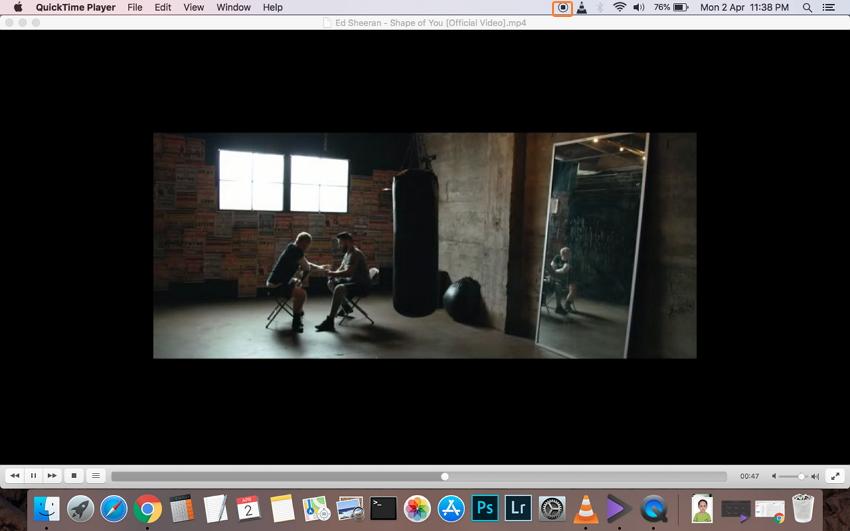 Mac Videoaufnahme beenden