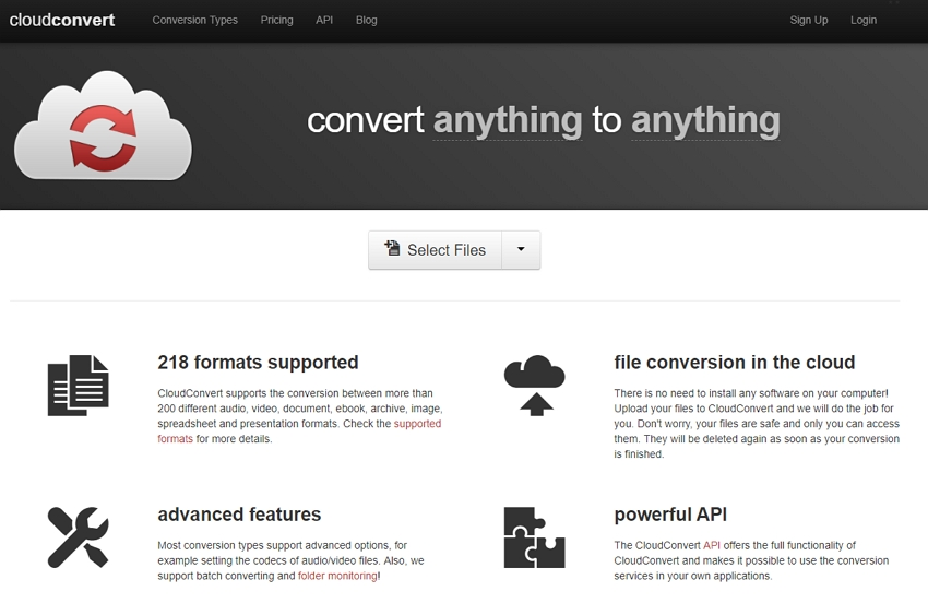 MP4 zu WebM Online Konverter - CloudConve