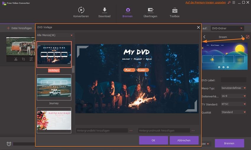 kostenlose Konvertierung von mp4 in dvd ohne Wasserzeichen