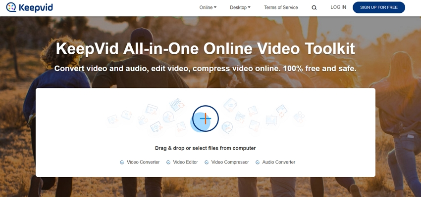 Kostenloser YouTube zu MP4 Converter - KeepVid