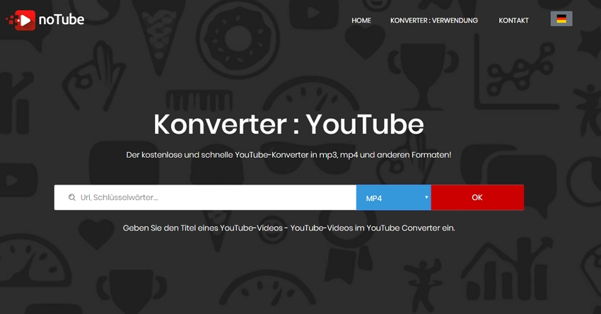 Online Video Converter - noTube