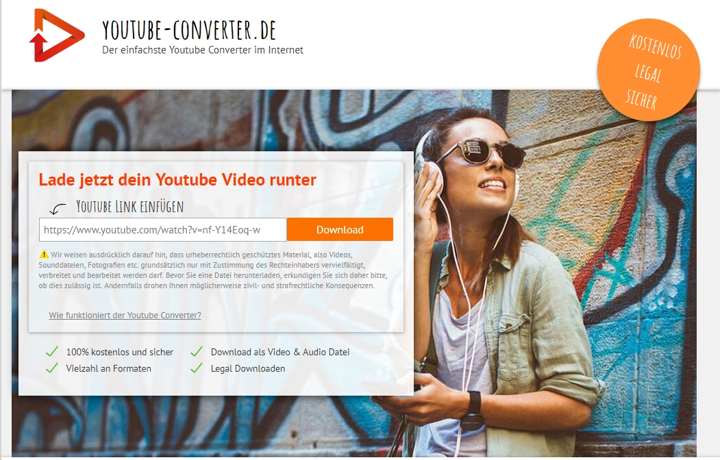Online YouTube zu MP4 Converter - YouTube Converter