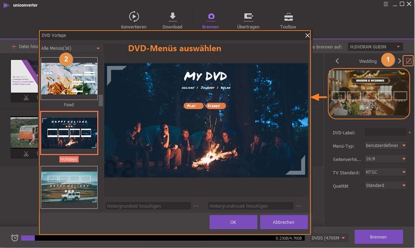 Wie Sie Videos auf dvd brennen