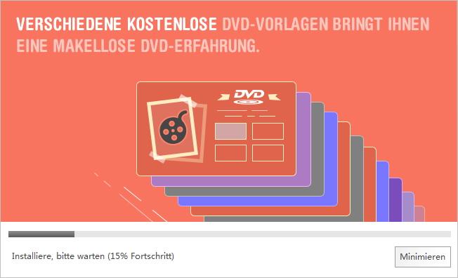 Den Wondershare Video Converter Ultimate installieren ‒ die Installation
