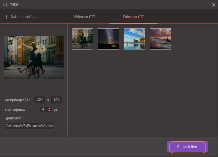 Wie man GIF-Dateien erstellt