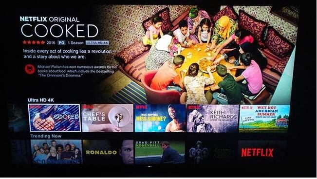 Sites de filmes em 4k - Netflix