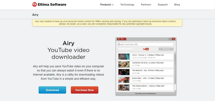4k video downloader - Airy