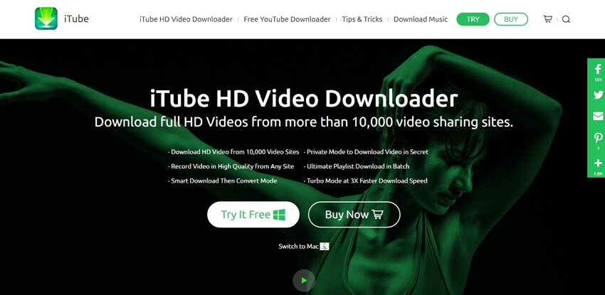 4k video downloader - iTube