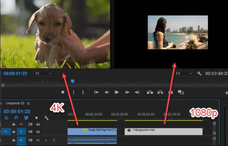 Upscale Videos from 1080p to 4K