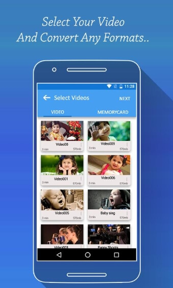 vidéo vers convertisseur mp4 hd apk - Convertisseur vidéo HD