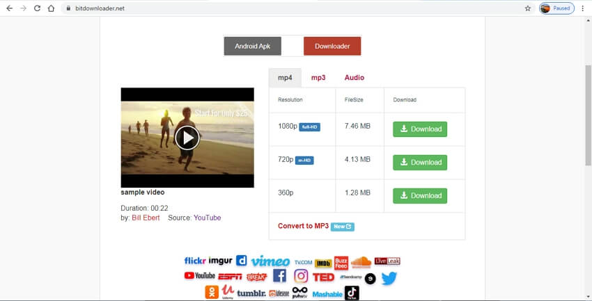 youtube to mp4 hd converter free download