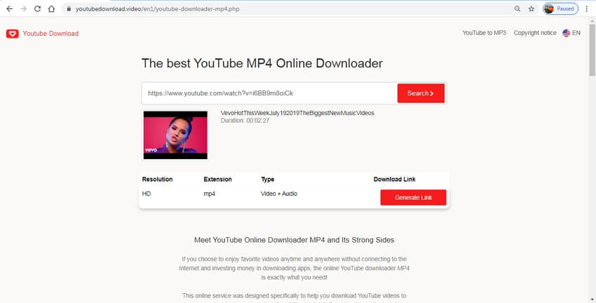 youtube to mp4 4k online