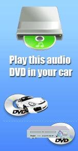 audio DVD burner - 1