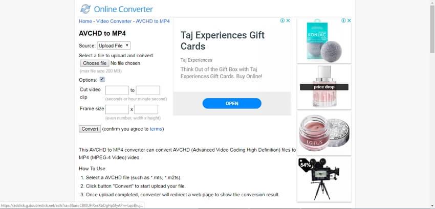 free avchd converter mac - Online converter AVCHD to MP4