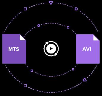 convert MTS to AVI