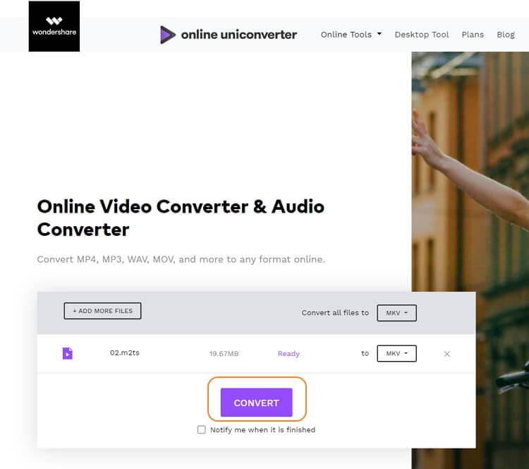 convert m2ts to mkv online free