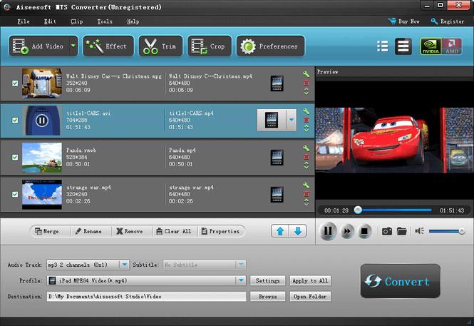 MTS converter Mac - AiseeSoft