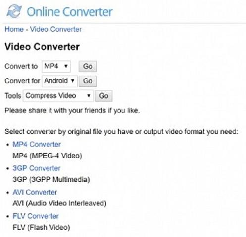 convert WAVI to FLV by Online Converter