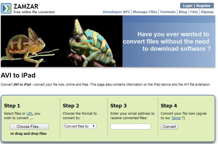 Convertir AVI a iPad gratis