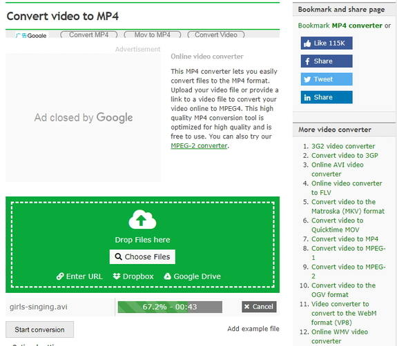 download converter avi to mp4 free