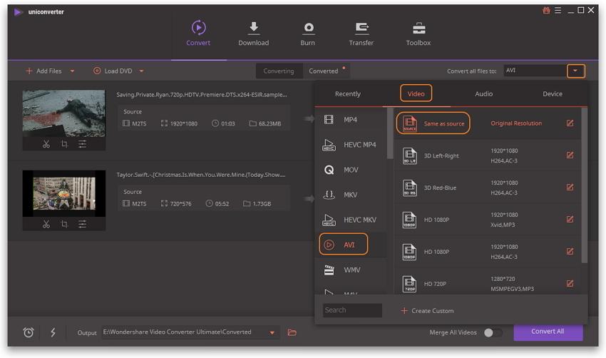 Free convert video to MOV, MP4, MP3 on Mac.