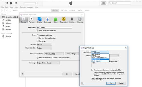 select mp3 encoder