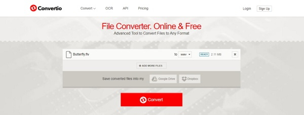 convert AVI to DivX online by Convertio