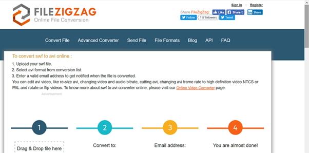 converter AVI para MKV por FileZigZag
