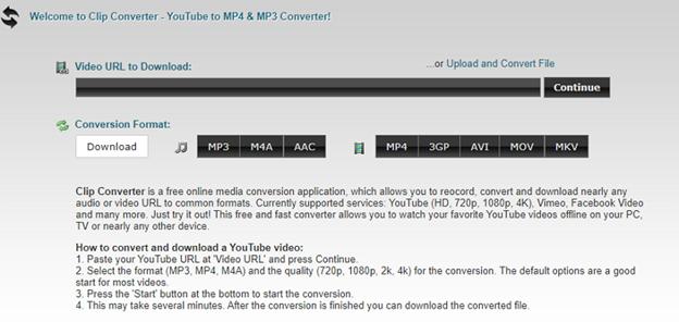 convertir AVI a MPEG con ClipConverter.cc