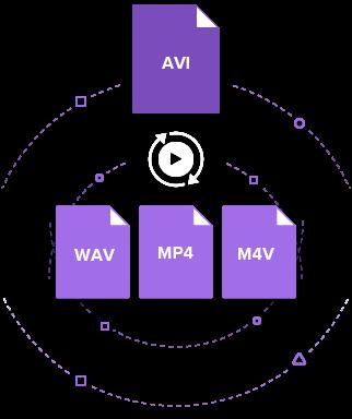 convert AVI to WAV