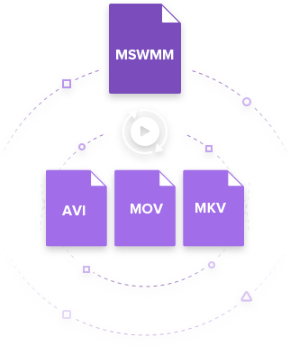 MSWMM to AVI converter