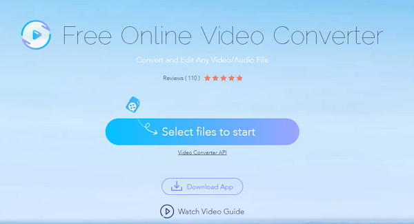 convert WMV to AVI online by Apowersoft Free Online Converter