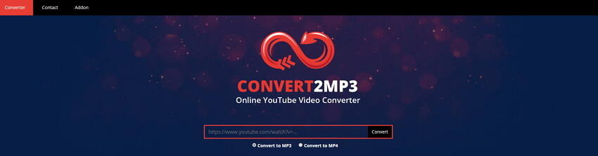 YouTube to MP4 converter Convert2mp3