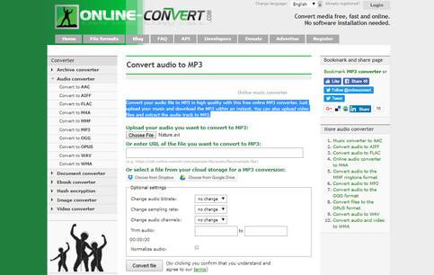 online avi to mp3 converter-online convert