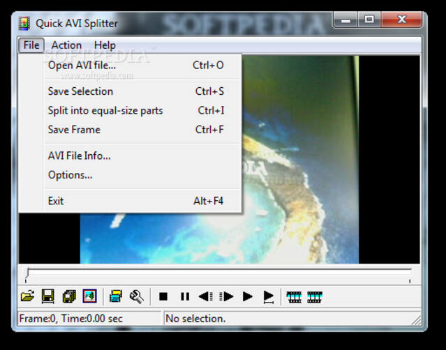 Cut AVI Files - Quick AVI Splitter