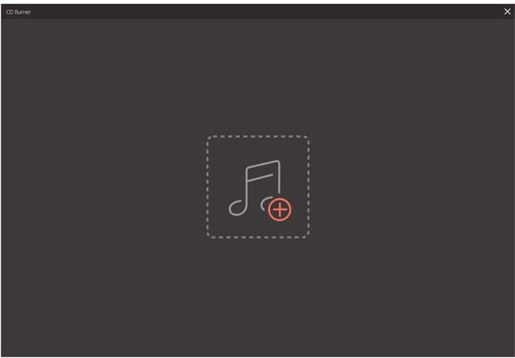 datein in der audio CD brennsoftware hinzufügen
