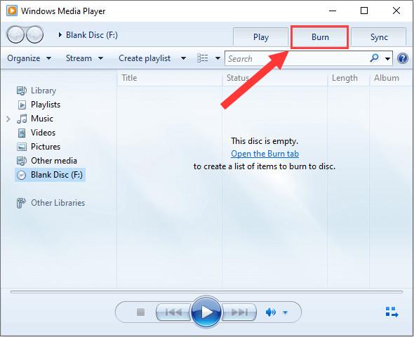 burn cd to mp3