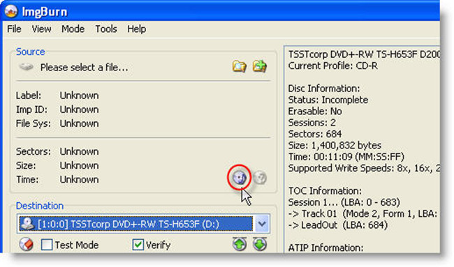 burn files to cd windows 8