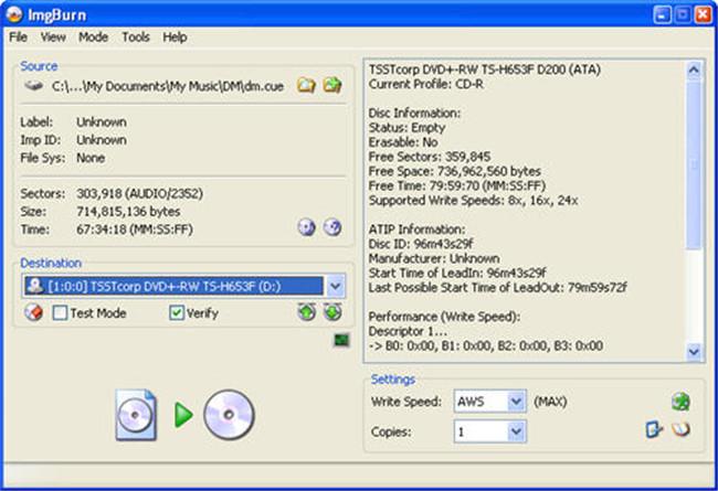 burn files to cd mac