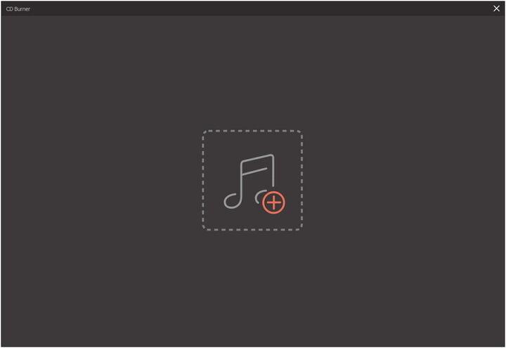 add files to cd burner